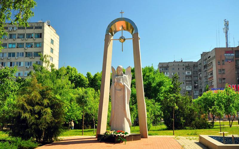 Николаев памятник ангел